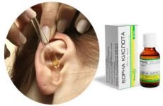 Борна кислота при лікуванні вуха: застосування і корисні властивості