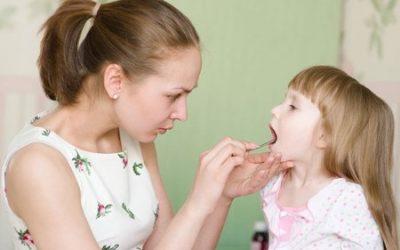 Чим лікувати дитину з червоним горлом і температурою