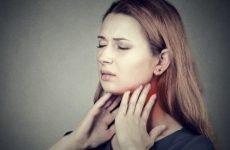 Що робити при набряку гортані – перша допомога при набряку горла