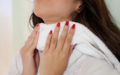 Компреси при ангіні – як правильно робити, роль у лікуванні