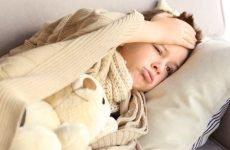 Скільки тримається температура при ангіні у дітей – причини виникнення