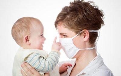 Як не заразити немовляти простудним захворюванням: огородження дитини від вірусів