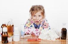Лікарські засоби від застуди та ГРВІ для дітей: жарознижуючі та противірусні препарати